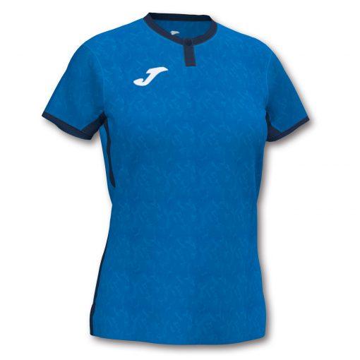 Maillot bleu marine femme Joma, Toletum II, volley, futsal, foot