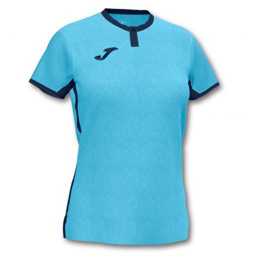 Maillot turquoise femme, Joma, toletum II, futsal, volley, foot