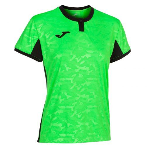 Maillot femme vert fluo Joma, toletum II, foot, futsal, volley