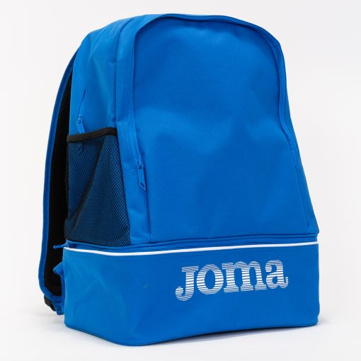 sac à dos, Joma, compartiment chaussures, bleu