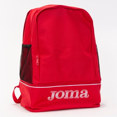 sac à dos, Joma, compartiment chaussures, rouge