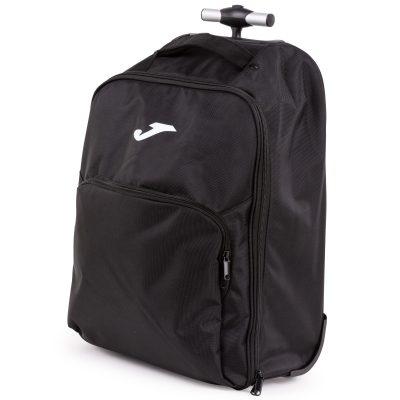 sac, sac de voyage, sac à roulettes, Joma, noir