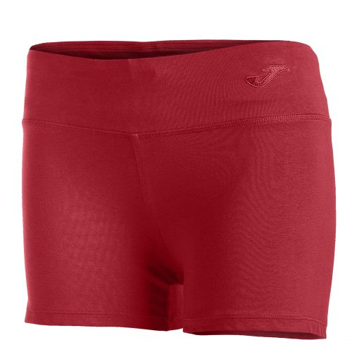 short rouge, shorty femme, Joma, vela II, tennis, running, paddle, volley, hand, fitness