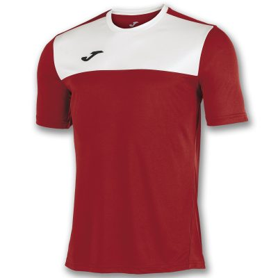 Maillot rouge blanc, Joma, winner, foot, futsal, hand, volley, cricket