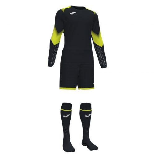 tenue noire gardien foot, futsal, Joma, zamora 5