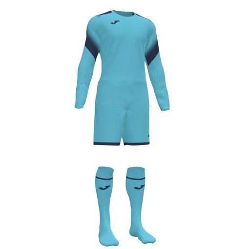 tenue gardien bleu turquoise fluo, Joma, zamora V, foot, futsal