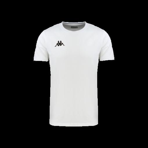t-shirt blanc meleto Kappa