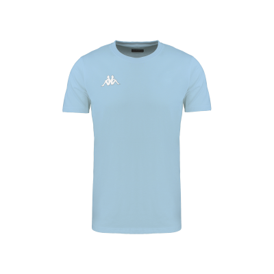 t-shirt bleu ciel meleto, Kappa