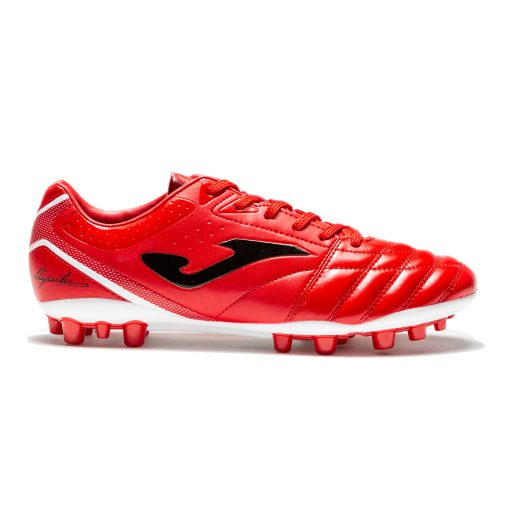 chaussures, football, rouge, Joma, terrain synthétique