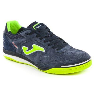 top flex, Joma, chaussures, futsal, marine
