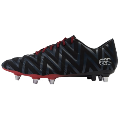 canterbury, rugby, noir, rouge