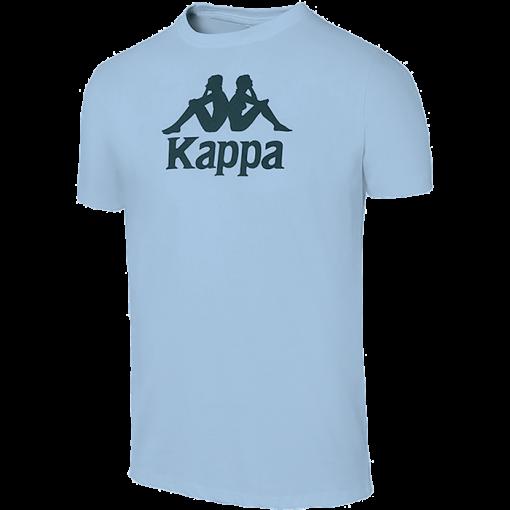 t-shirt Mira Kappa bleu ciel cotton