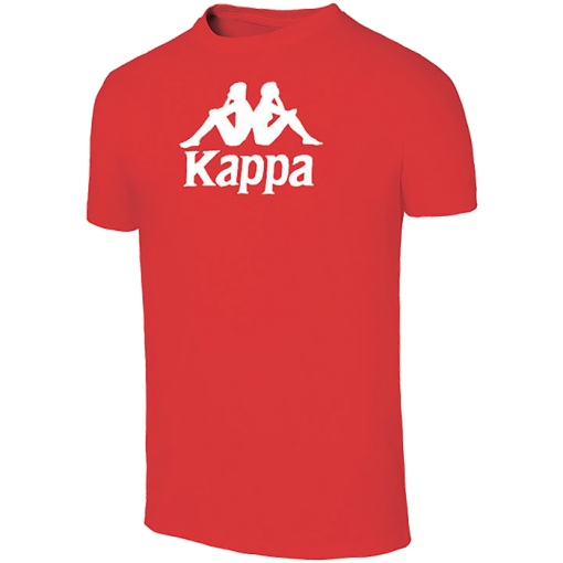 t-shirt rouge cotton Kappa Mira