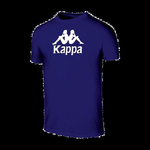 t-shirt Mira Bleu marine cotton Kappa