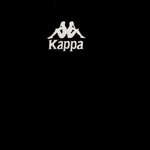 T-shirt Kappa noir Cotton Mira